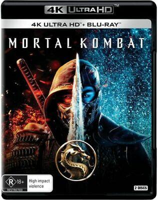Mortal Kombat 4K Ultra HD + Blu-ray BRAND NEW Region B
