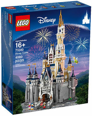 LEGO 71040 Disney Cinderella's Castle New Sealed + BONUS Lego 41053 Carriage