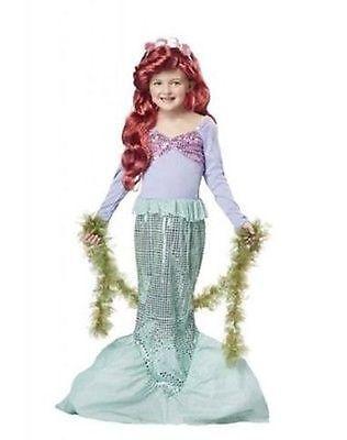 California Kostüme Ariel Kleine Meerjungfrau See Kinder Kostümspiel Disney