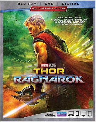 Thor  Ragnarok W Slipcover  Blu Ray  Dvd  2018  Digital  New