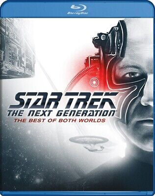 STAR TREK THE NEXT GENERATION THE BEST OF BOTH WORLDS New Blu-ray Parts 1 and (Star Trek Best Of Both Worlds Part 2)