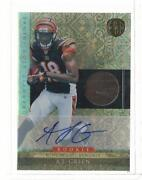 AJ Green Auto Rookie Card