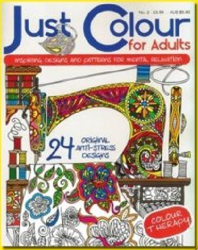 JUST COLOUR FOR ADULTS__ BRAND NEW COLOURING BOOK ISSUE 2_