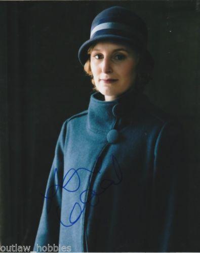 Laura Carmichael Downton Abbey Autographed Signed 8x10 Photo COA #1