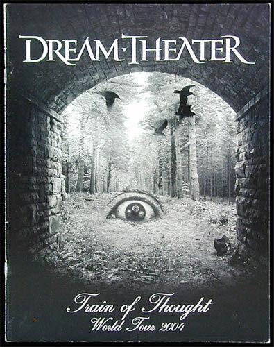 Dream Theater ORIGINAL 2004 Train of Thought World Tour Book Concert Program