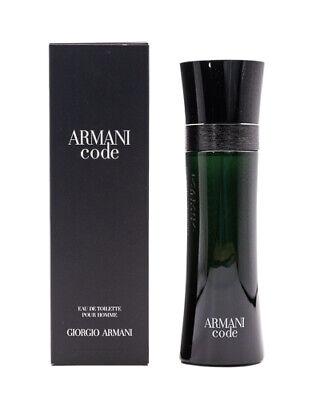 Armani Code by Giorgio Armani 4.2 oz EDT Cologne for Men New In Box