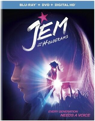 Jem and the Holograms [New Blu-ray] With DVD, UV/HD Digital Copy, 2 Pack, Digi