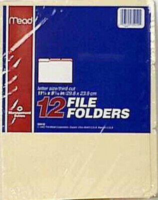 Oxford - Manila File Folders Letter Size - 12 File Folders