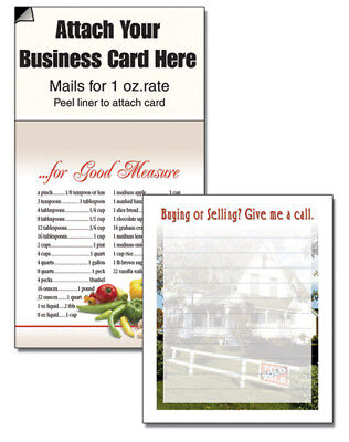 REALTOR HOUSE MAGNETIC BUSINESS CARD NOTEPAD CHEAP MARKETING SCRACTHPAD - Cheap Notepads
