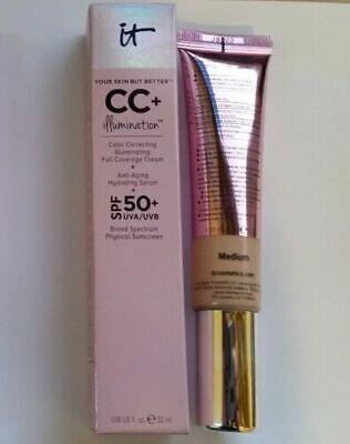It Cosmetics cc + Your Skin But Better CC Cream SPF 50+ LIGHT MEDIUM