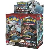 POKEMON TCG SUN & MOON CRIMSON INVASION BOOSTER FACTORY SEALED BOX - ENGLISH