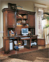 Hooker Furniture Belle Grove  Computer Credenza and Hutch