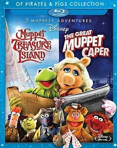 Pirates & Pigs - Muppets blu-ray double feature