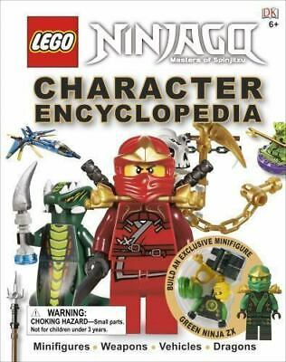 LEGO Ninjago Character Enclycopedia WITH MINIFIGURE - 2012 Edition