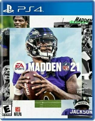 EA Sports Madden NFL 21 (PS4 / PlayStation 4) BRAND NEW SEALED