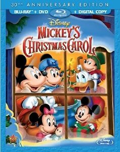 MICKEY'S CHRISTMAS CAROL :Disney 30th Anniversary) Blu Ray - Sealed Region free