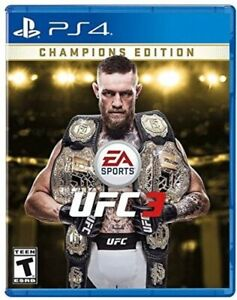 EA SPORTS UFC 3 Champions Edition - PlayStation 4 BRAND NEW PS4