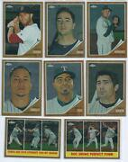 2011 Topps Heritage Chrome Lot
