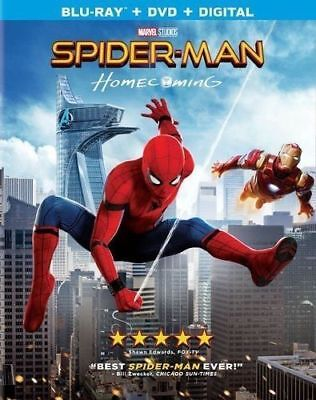 Spider Man  Homecoming  Blu Ray   Dvd   Digital  2017 Brand New With Slipcover