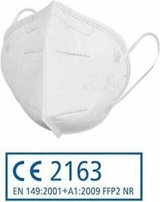 20 Stück FFP2 Maske Mundschutz Atemschutz CE zertifiziert JIFA Siegmund