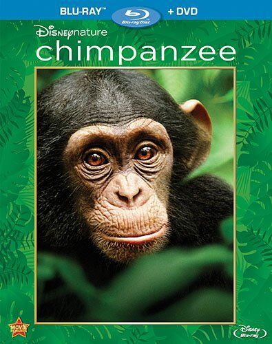 DISNEYNATURE : CHIMPANZEE   documentary -  Blu Ray - Region free for UK