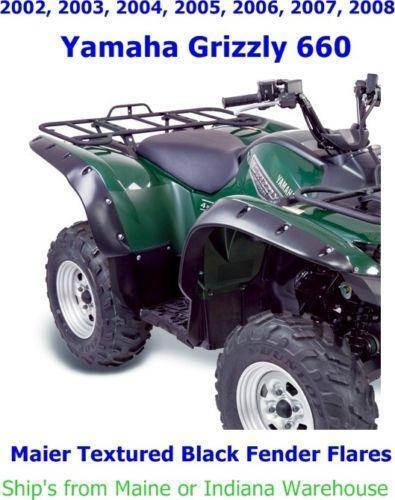 Yamaha grizzly 660 fenders ebay for 2006 yamaha grizzly 660 battery