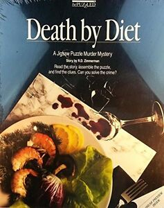 DEATH BY DIET A JIGSAW PUZZLE MURDER MYSTERY COMME NEUF