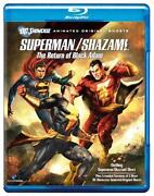 Superman Shazam Blu Ray