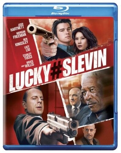 LUCKY NUMBER # SLEVIN BLU RAY  MORGAN FREEMAN BRUCE WILLIS  LUCY LIU  REGION A
