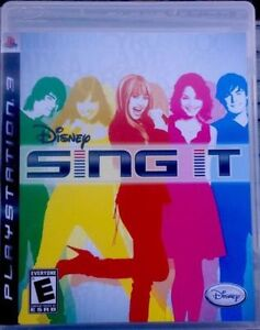 Disney Sing It PS3 (Sony PlayStation 3) Karaoke Game NEW Kingston Kingston Area image 1