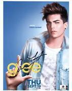 Adam Lambert Autograph