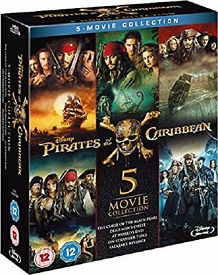 Pirates of the Caribbean - Complete Collection [Blu-ray]