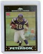 2007 Topps Chrome Adrian Peterson
