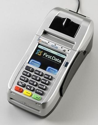 First Data Fd 130 Terminal With Internal Pin Pad Emv Nfc Wifi  001867064   New