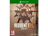 *Brand New* Resident Evil 7: Biohazard - Steelbook Edition. Xbox One.