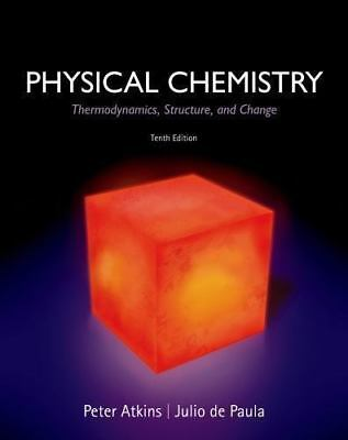 PHYSICAL CHEMISTRY 10E Int'L Edition