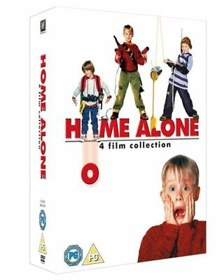 HOME ALONE 1-4 DVD NEW SEALED WITH EXTRAS UK REGION 2 3 4 DISCS (Home Alone 1 2 3 4)