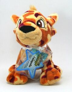 NEW-WITH-TAGS-Neopets-Series-5-CAMOFLAUGE-KOUGRA-Plush-Doll-Toy-UNUSED-Code-RARE