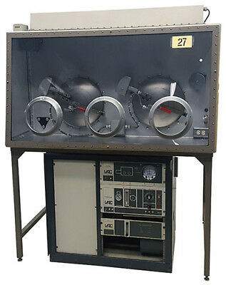 Vacuum Atmospheres He-43 Glove Box With Two Vacuum Oven Antechambers Tag 27