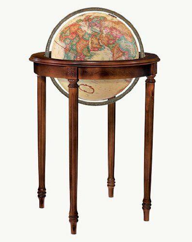 Replogle Regency Floor Globe, Antique