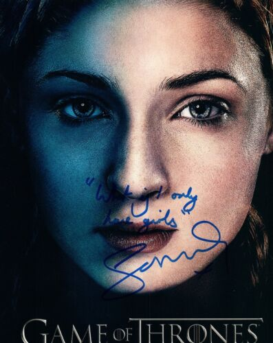 Sophie Turner Signed Autographed 8x10 Photo Game of Thrones RARE QUOTE COA VD