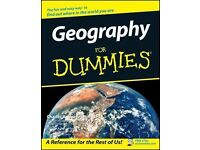 Geography for Dummies by Charles A. Heatwole, PhD Paperback Book (English)