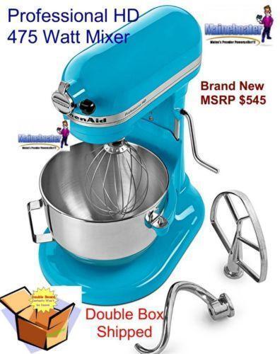 Kitchenaid Mixers - Stand, Hand, Bowls & Attachments | Ebay