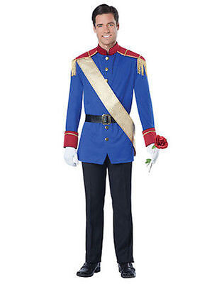 California Costumes Storybook Prince Adult Cosplay Fairy Tail Halloween 01507