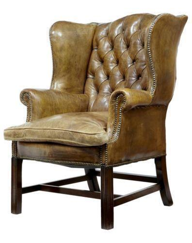 Wing Back Arm Chair Ebay