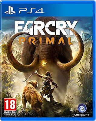 Far Cry Primal PS4 Sony PlayStation 4 Brand New Factory Sealed