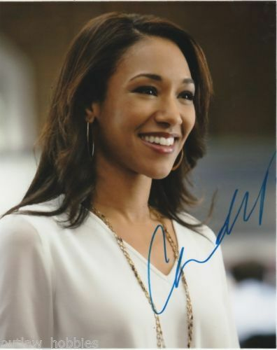 The Flash Candice Patton Autographed Signed 8x10 Photo COA E