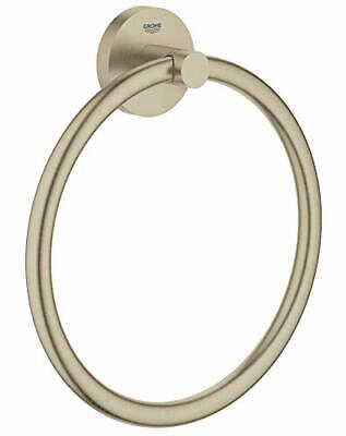 Grohe 40365EN1 Essentials Towel Ring Brushed Nickel Infinity Finish