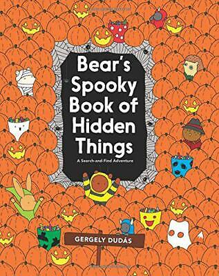 Halloween Search And Find (Bear's Spooky Book of Hidden Things: Halloween Seek-and-Find (Search and Find)