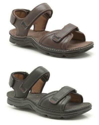 Clarks Mens Leather Sandals